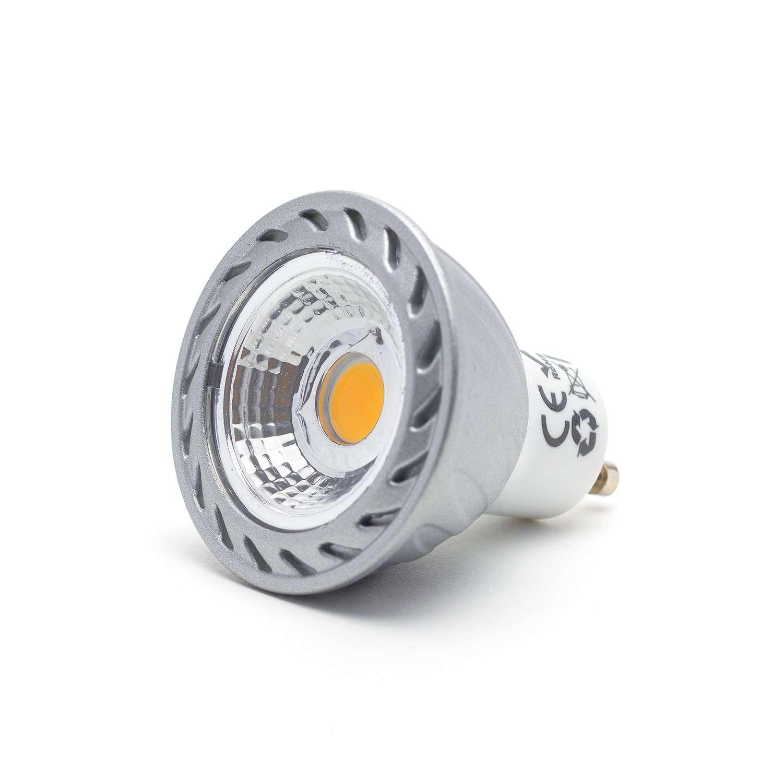 GU10 Leuchtmittel COB LED 6 Watt dimmbar 230 Volt