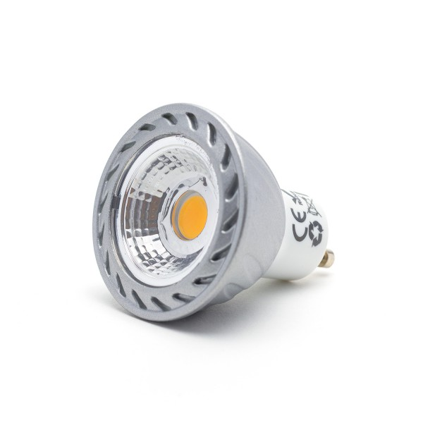 GU10 Leuchtmittel COB-LED, 6 Watt, dimmbar