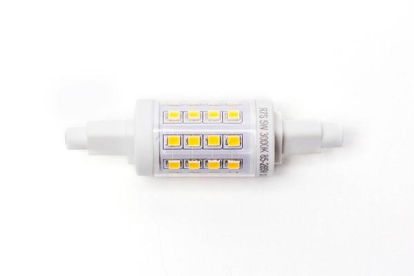R7S SMD LED, 5 Watt, 78 mm