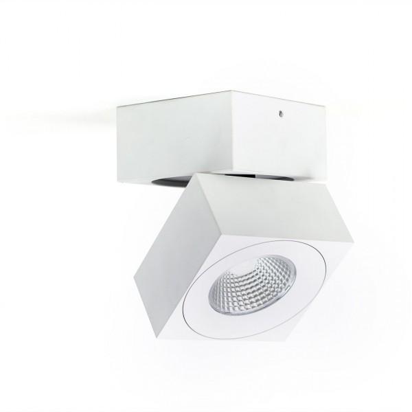 Deckenstrahler, quadratisch, 360° drehbar